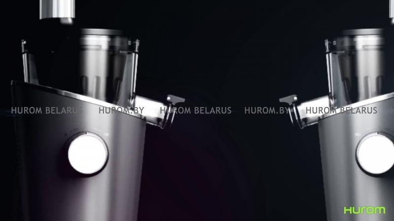Шнековая соковыжималка HUROM H-100 (черная)