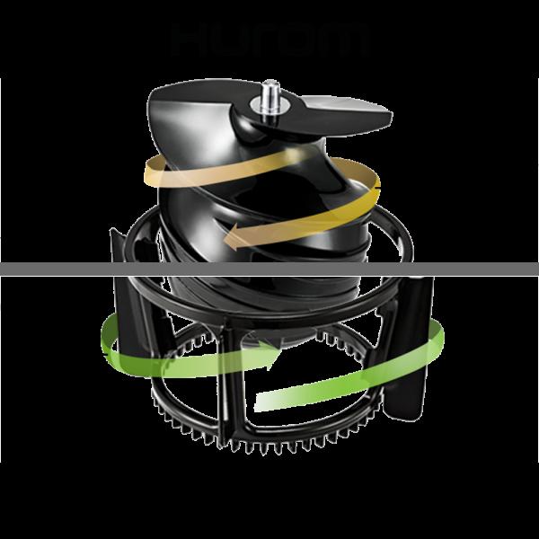 Шнековая соковыжималка HUROM HZ Alpha Plus (Стальная)